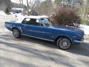 1964 1/2 Ford Mustang Convertible (Swanzey, NH) $29,995 obo