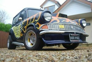 Ford anglia 307e van discotrucker one off custom
