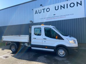 FORD TRANSIT 350 LWB DOUBLE CAB TIPPER