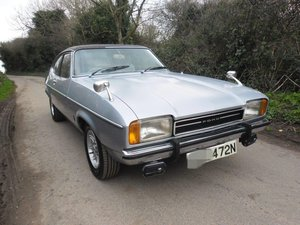 1974 Ford Capri low mileage solid ready to drive