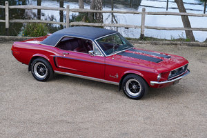 1968 Ford Mustang 289 Coupe Black Plate Rally Prep