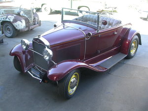 1931 ALL STEEL BLOWN V8 CALIFORNIA HOTROD SINCE 1959