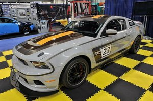 Heins motorsports mustang boss 302 rs race car