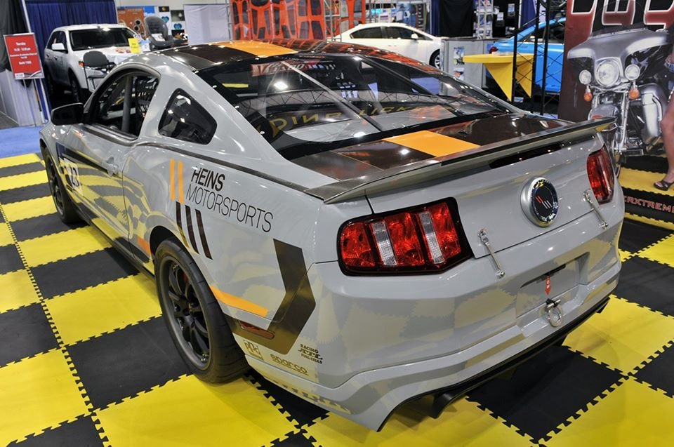 2011 Heins motorsports mustang boss 302 rs race car For Sale (picture 2 of 6)