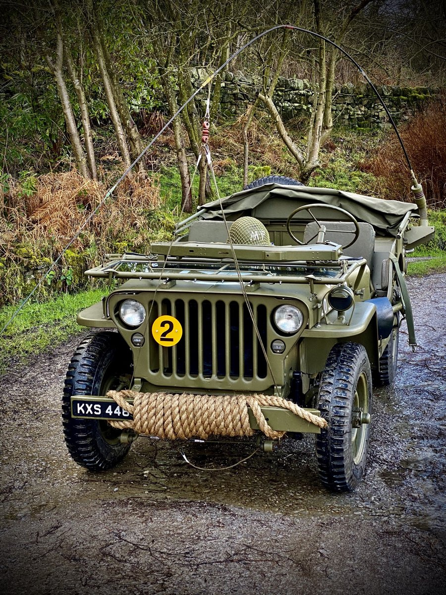 1942 Willys Jeep GPW scripted-matching numbers-restored For Sale (picture 1 of 6)