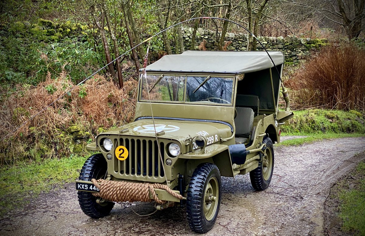 1942 Willys Jeep GPW scripted-matching numbers-restored For Sale (picture 2 of 6)