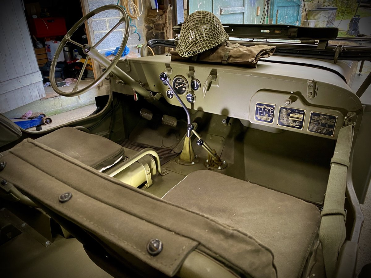 1942 Willys Jeep GPW scripted-matching numbers-restored For Sale (picture 3 of 6)