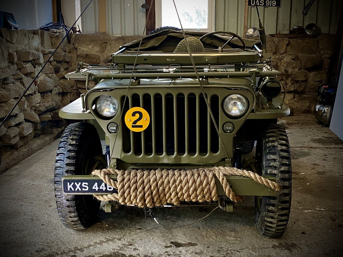 1942 Willys Jeep GPW scripted-matching numbers-restored For Sale (picture 4 of 6)