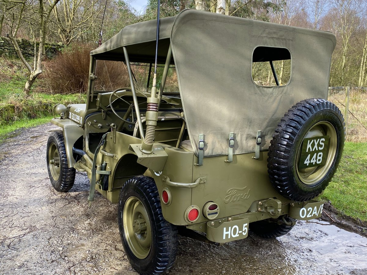 1942 Willys Jeep GPW scripted-matching numbers-restored For Sale (picture 5 of 6)