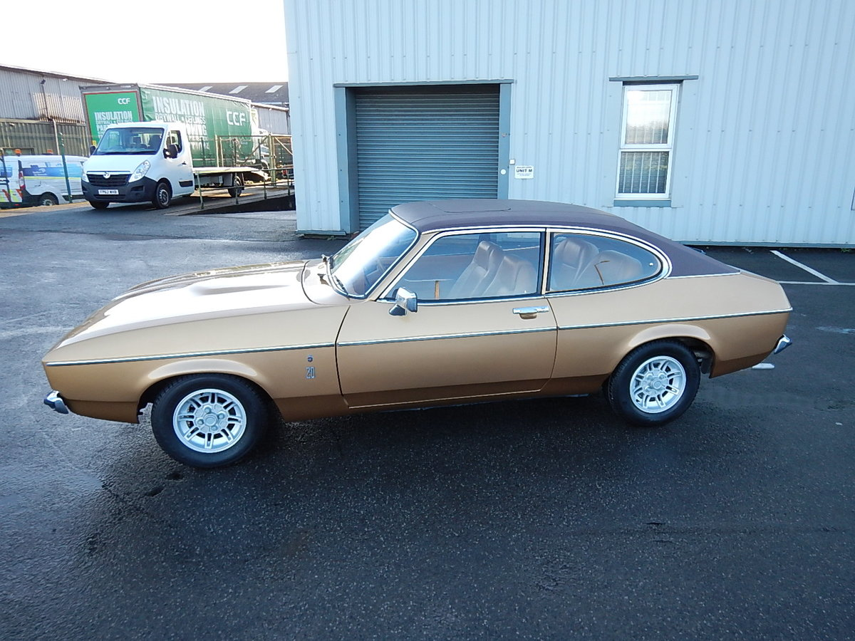 1975 FORD CAPRI Mkll 2.0 Ghia Automatic ~  SOLD (picture 1 of 6)