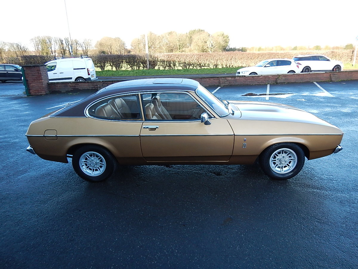 1975 FORD CAPRI Mkll 2.0 Ghia Automatic ~  SOLD (picture 3 of 6)