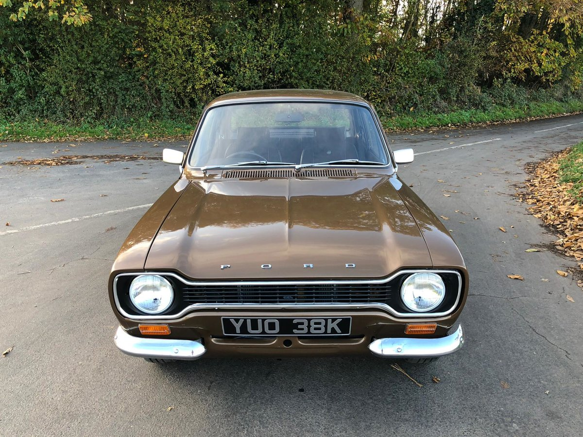 Ford Escort Mk1 1600 Mexico, 1972.   Rare in Tawny Brown. For Sale (picture 2 of 6)