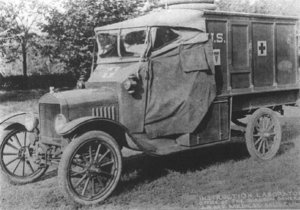 1917 Ford - Model T - Original WWI Ambulance -
