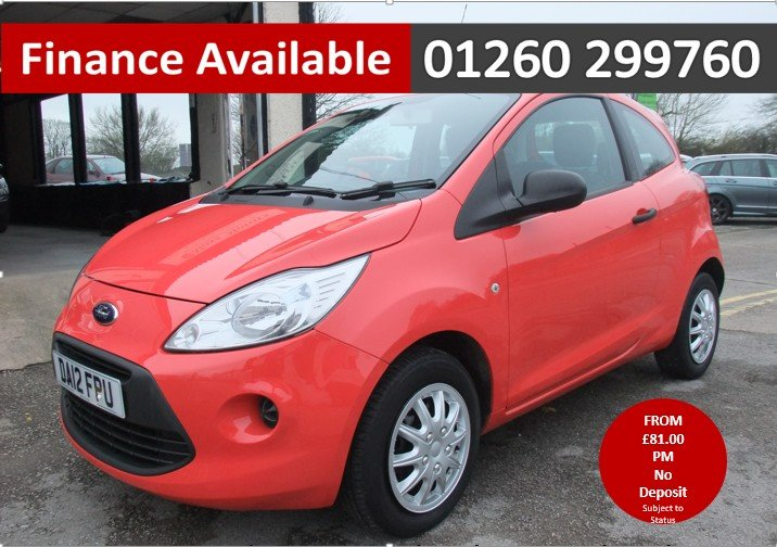 2012 FORD KA 1.2 STUDIO 3DR SOLD (picture 1 of 6)