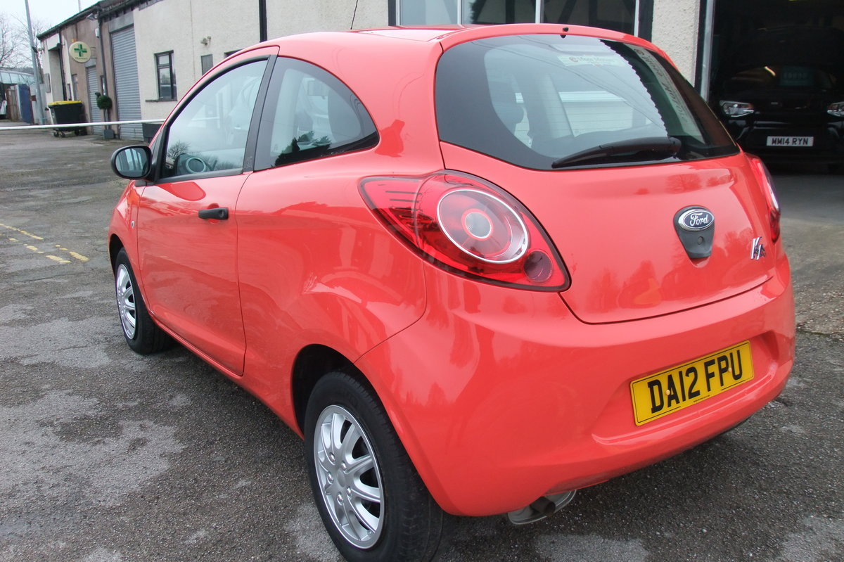 2012 FORD KA 1.2 STUDIO 3DR SOLD (picture 3 of 6)