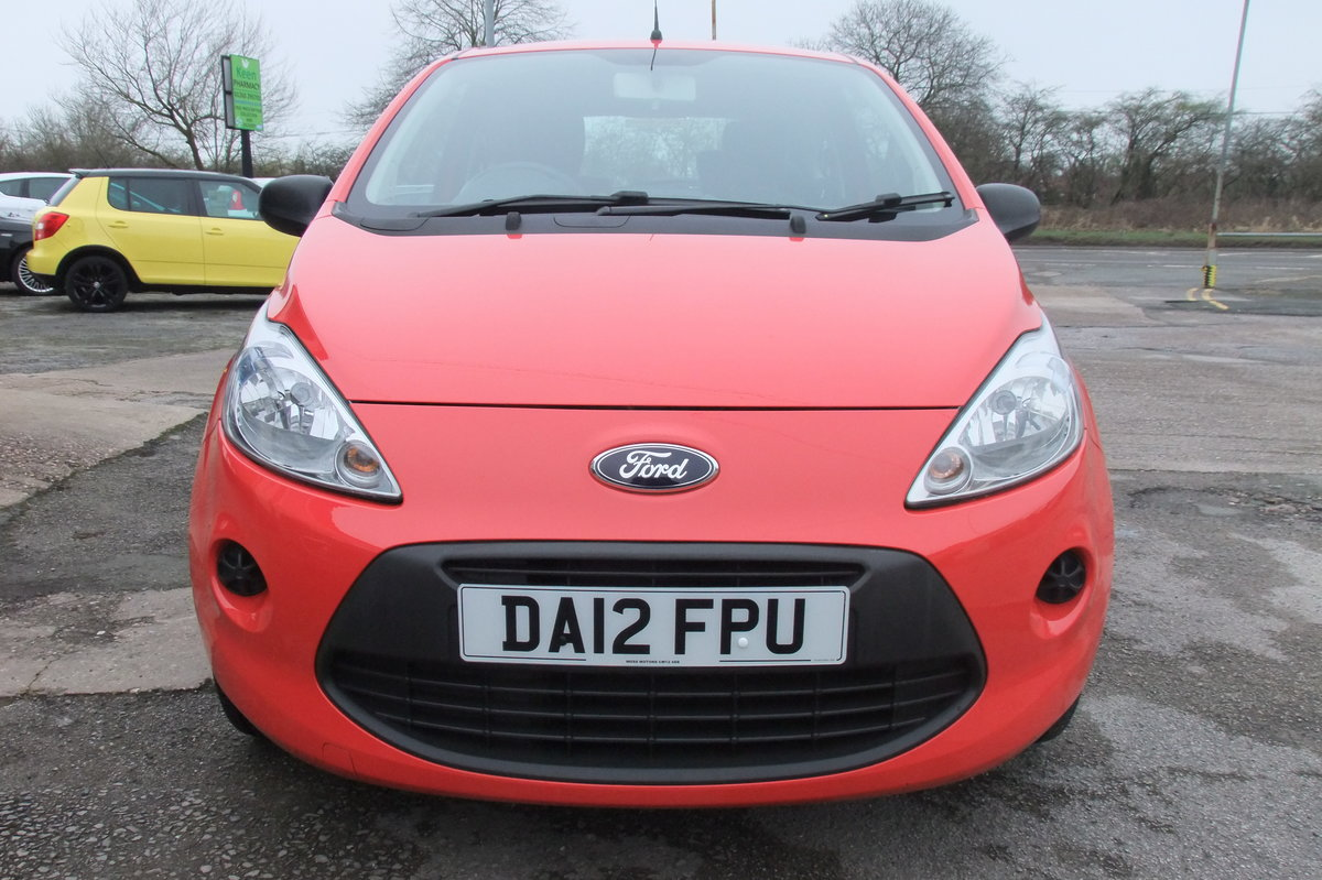 2012 FORD KA 1.2 STUDIO 3DR SOLD (picture 4 of 6)