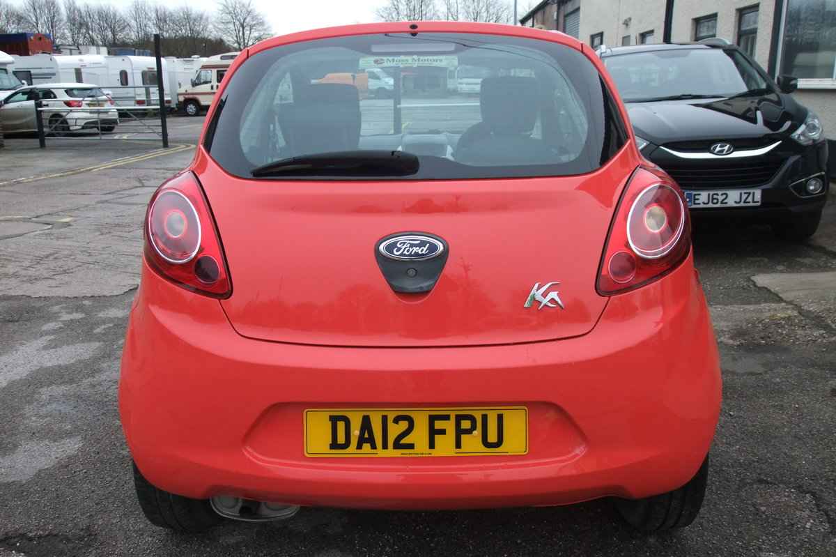 2012 FORD KA 1.2 STUDIO 3DR SOLD (picture 5 of 6)