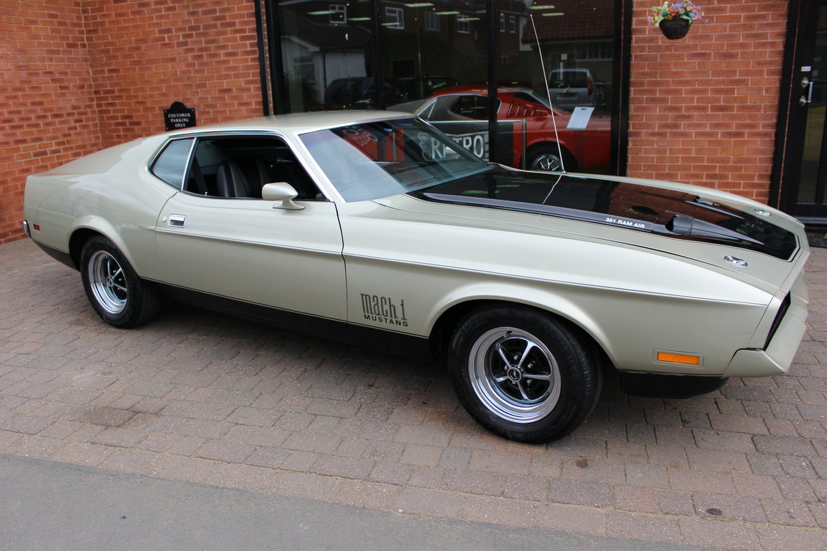 1971 Ford Mustang Mach 1 351 V8 Auto   Right Hand Drive For Sale (picture 1 of 10)