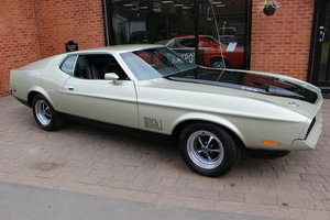 1971 Ford Mustang Mach 1 351 V8 Auto | Right Hand Drive