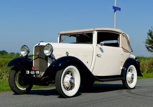 Ford V8 1932 Cabriolet Vandenplas , Mille Miglia For Sale
