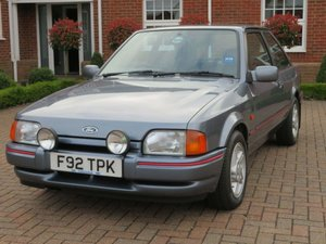 1989 ford escort 1.6 xr3i
