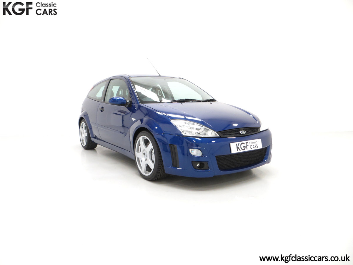 2003 An Impeccable Ford Focus RS Mk1 with 10,937 Miles For Sale (picture 1 of 6)