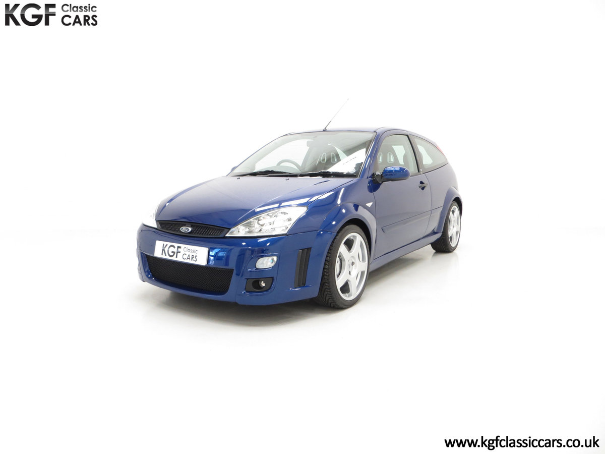 2003 An Impeccable Ford Focus RS Mk1 with 10,937 Miles For Sale (picture 2 of 6)