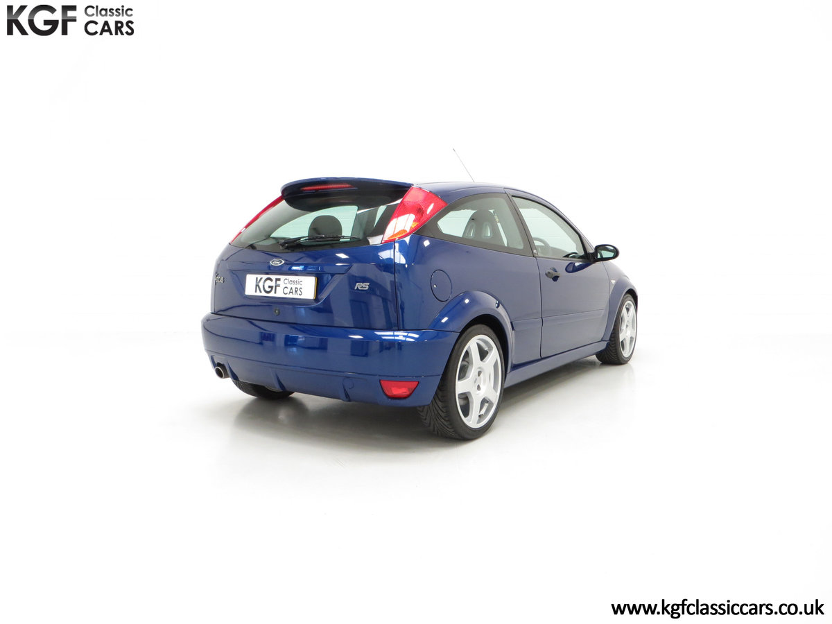 2003 An Impeccable Ford Focus RS Mk1 with 10,937 Miles For Sale (picture 5 of 6)