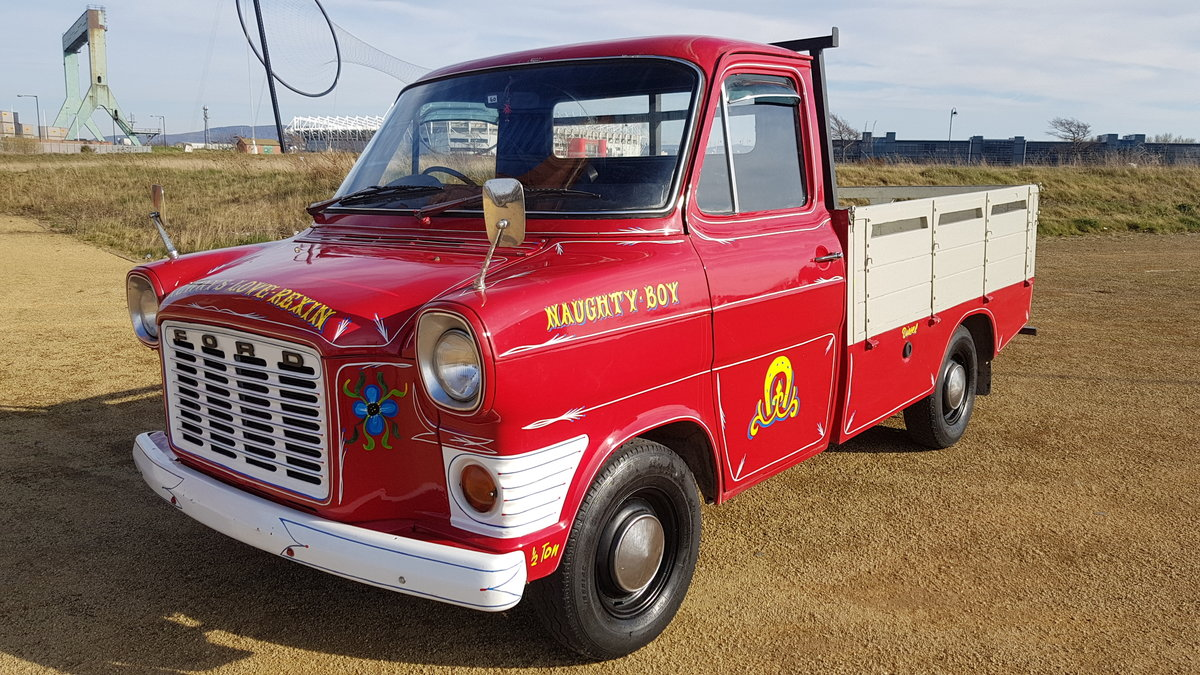 FORD TRANSIT RARE CLASSIC 1972 MK1 PICK UP PERKINS DIESEL For Sale (picture 1 of 6)