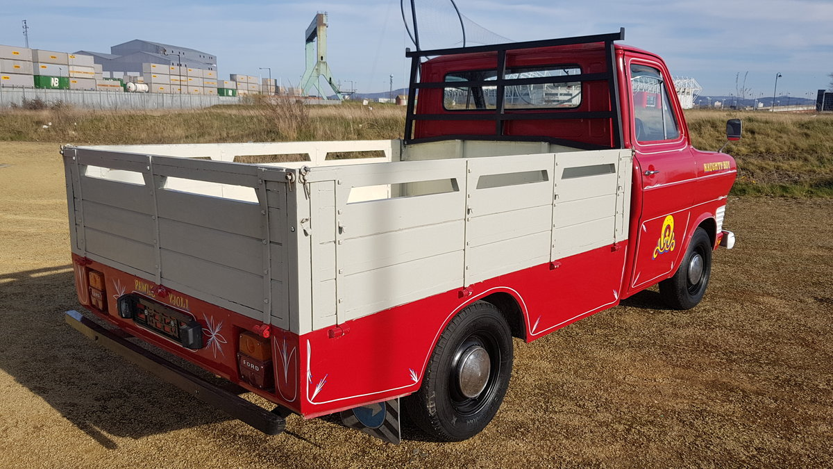 FORD TRANSIT RARE CLASSIC 1972 MK1 PICK UP PERKINS DIESEL For Sale (picture 2 of 6)