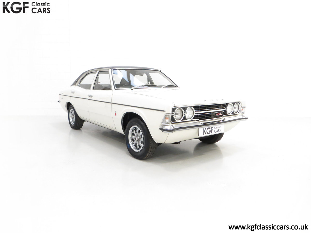 1972 An Iconic Top of the Range Ford Cortina Mk3 2000 GXL For Sale (picture 1 of 6)
