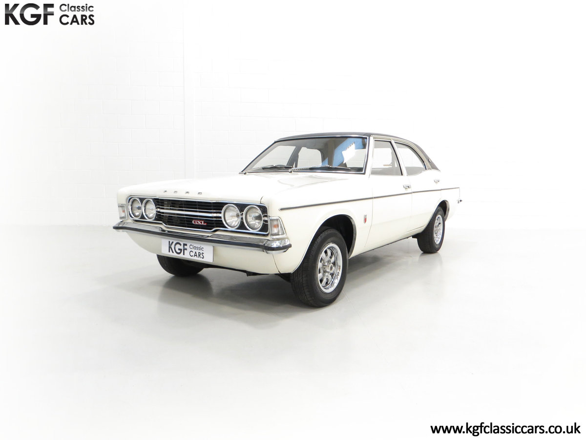 1972 An Iconic Top of the Range Ford Cortina Mk3 2000 GXL For Sale (picture 2 of 6)
