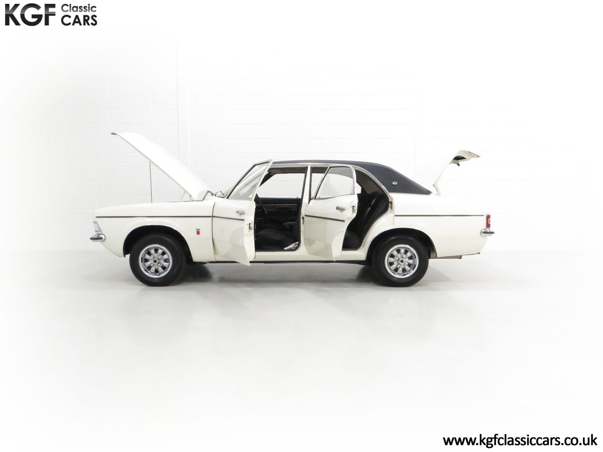 1972 An Iconic Top of the Range Ford Cortina Mk3 2000 GXL For Sale (picture 3 of 6)