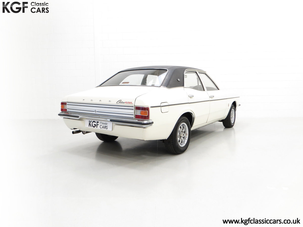 1972 An Iconic Top of the Range Ford Cortina Mk3 2000 GXL For Sale (picture 5 of 6)