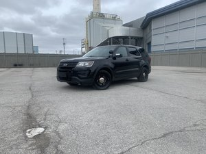 2017 Police Ford Utility