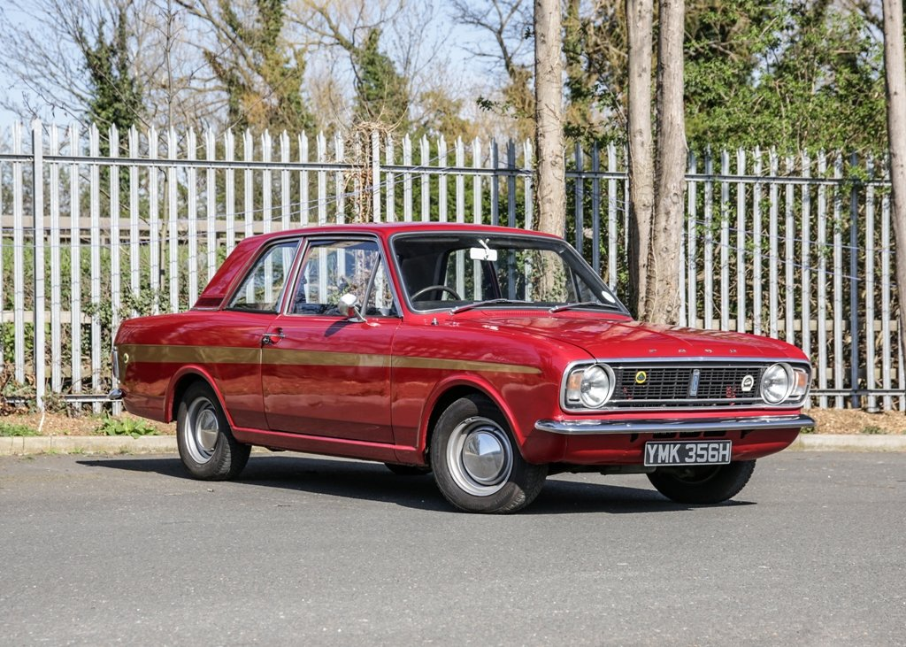 1970 Ford Lotus Cortina Mk.II For Sale (picture 1 of 6)