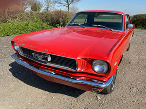 1966 Red Ford Mustang V8 Auto Coupe PROJECT