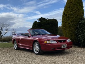 1995 Ford Mustang 5.0 GT V8 Convertible. Only 48,000 Miles.