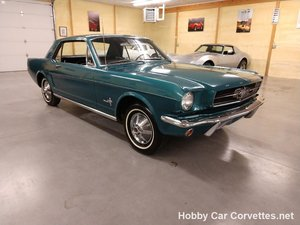 1965 Ford Mustang 200 3 spd manual Very original