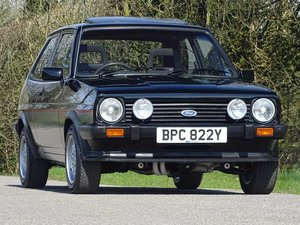 1983 1982 Ford Fiesta XR2