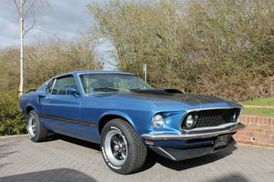1969 Ford Mustang Mach 1 Fastback V8 351 Windsor