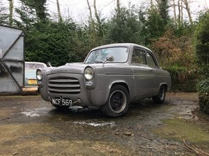 Ford Anglia 100E 1.8 16V Zetec on Bike Carbs