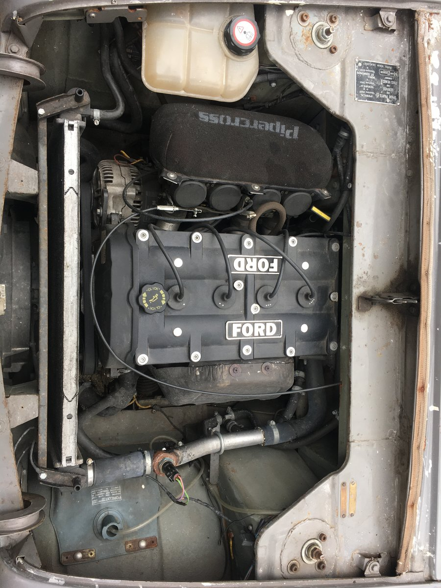 1959 Ford Anglia 100E 1.8 16V Zetec on Bike Carbs For Sale (picture 3 of 6)