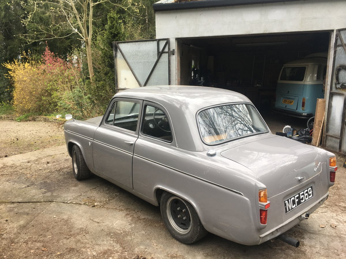 1959 Ford Anglia 100E 1.8 16V Zetec on Bike Carbs For Sale (picture 6 of 6)