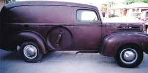 1946 Ford Panel Truck For Sale