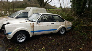 1979 Ford Escort Mark 2 RS.MEXICO Replica For PARTS