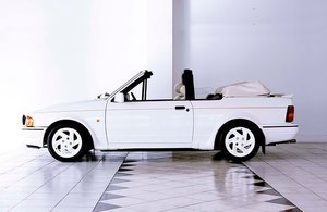 1988 Ford Escort XR3i ALL WHITE SE Convertible ONLY 40136 miles ! SOLD