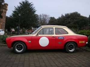 Ford Escort Mk1 Alan Mann Replica. Stunning car