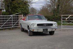 1965 Ford Mustang Convertible, Full Restoration, 30k Spent