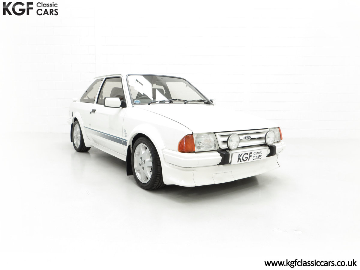 1985 An Iconic Unmolested Ford Escort Series 1 RS Turbo For Sale (picture 1 of 24)